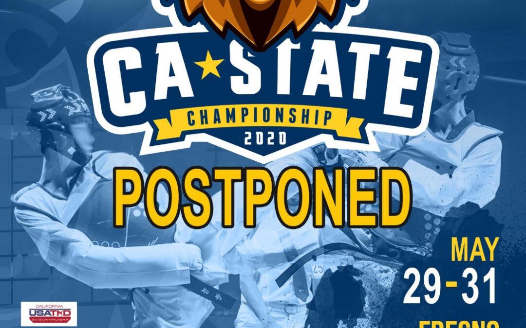 2020 State Championships Postponed