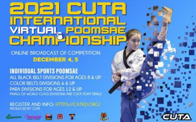 2021 CUTA International Virtual Poomsae Championship